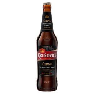 Krušovice Černé pivo výčepní tmavé 0,5l