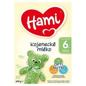 Hami Kojenecké mléko 6+ 600g