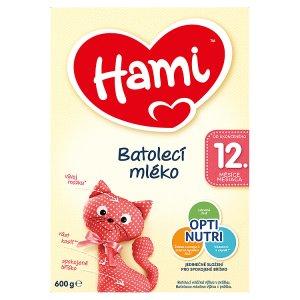 Hami Batolecí mléko 12+ 600g Albert