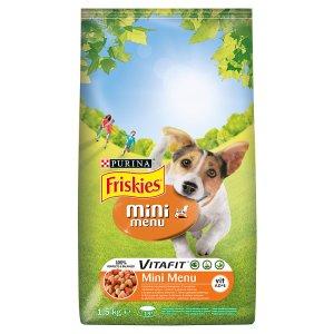 FRISKIES Mini Menu s kuřetem a přidanou zeleninou 1,5kg