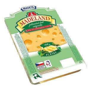 Madeta Madeland 45% plátky sýr holandského typu 100g