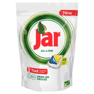 Jar kapsle do myčky 48 ks, vybrané druhy Teta drogerie