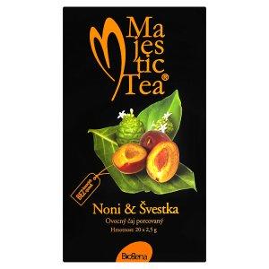 Biogena Majestic Tea Noni & švestka ovocný čaj porcovaný 20 x 2,5g