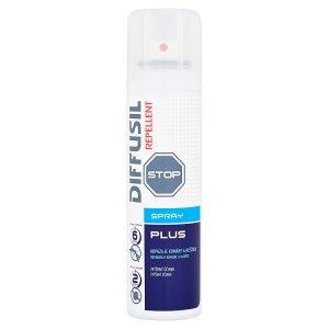 Diffusil Repellent plus repelentní sprej na odpuzování komárů a klíšťat 150ml