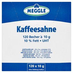 Meggle Smetana do kávy 120 x 10g