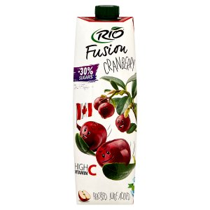 Rio Fusion Jablko - brusinka 1l