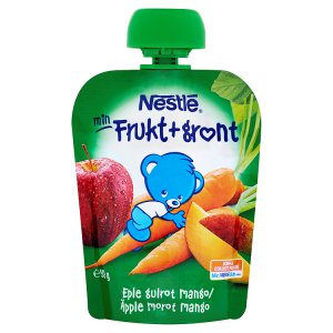 Nestlé Jablko mango mrkev 90g