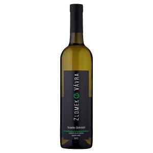 Zlomek & Vávra Tramín červený jakostní víno s přívlastkem pozdní sběr polosuché 0,75l