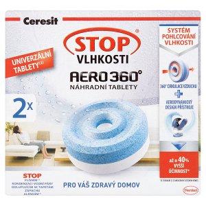 Ceresit Stop Vlhkosti Aero 360° náhradní tablety 2 x 450g ROSSMANN