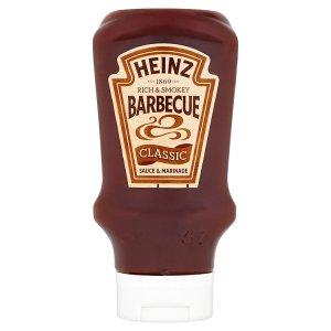 Heinz Barbecue omáčka 480g-500g, vybrané druhy