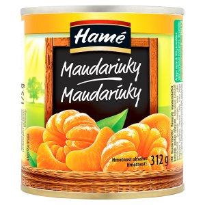 Hamé Mandarinky v sladkém nálevu 312g