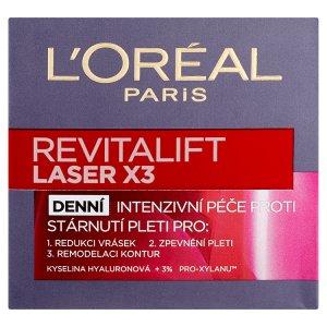 L'Oréal Paris Revitalift Laser X3 krém 50ml, vybrané druhy Albert