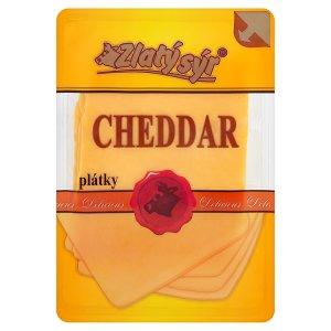 Zlatý Sýr Cheddar 50 % plátky 100g