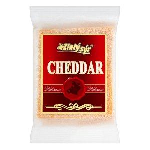 Zlatý Sýr Cheddar 50 % bloček 200g