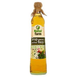 Natur Farm Ovocný sirup s příchutí bezového květu 0,7l