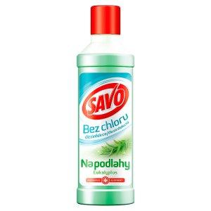 Savo Na podlahy Eukalyptus dezinfekční přípravek bez chloru 1l