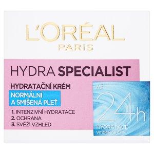 L'Oréal Paris Hydra Specialist hydratační krém normální pleť 50ml TOP drogerie