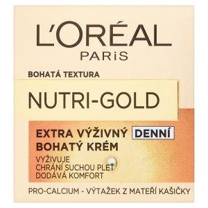 L'Oréal Paris Nutri-Gold Extra výživný bohatý denní krém 50ml TOP drogerie