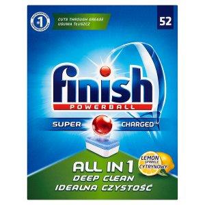 Finish tablety do myčky 52 ks, vybrané druhy