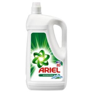 Ariel gel na praní 80 dávek, vybrané druhy Ratio