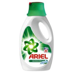 Ariel gel na praní 20 dávek, vybrané druhy Teta drogerie