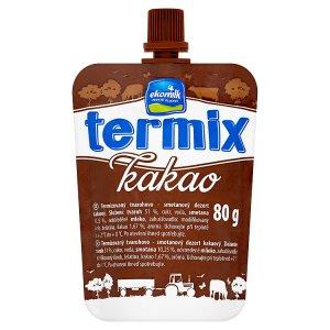 Ekomilk Termix 80g, vybrané druhy