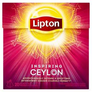 Lipton černý čaj, vybrané druhy 20 sáčků