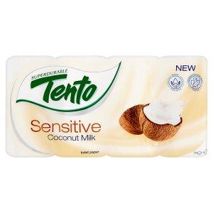 Tento Sensitive Coconut milk toaletní papír 8 rolí Globus