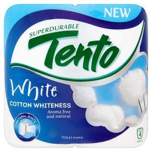 Tento White Cotton whiteness toaletní papír 4 role Tamda Foods