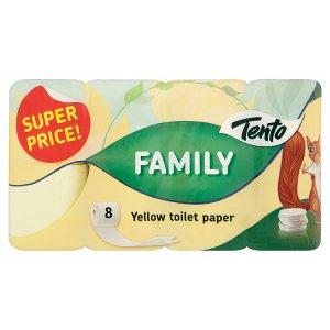 Tento Family Toaletní papír 8 rolí Šlak