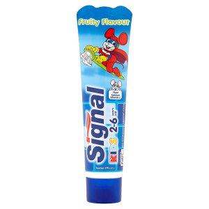 Signal Zubní pasta pro děti ve věku od 2 do 6 let 50ml Tesco