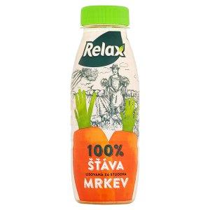 Relax 100% šťáva lisovaná za studena 250ml Ráj drogerie
