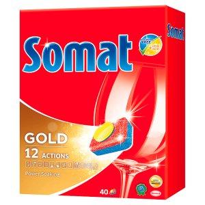 Somat tablety do myčky 40 ks, vybrané druhy CBA prodejní družstvo