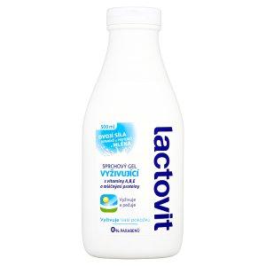 Lactovit Vyživující sprchový gel 500ml Lidl