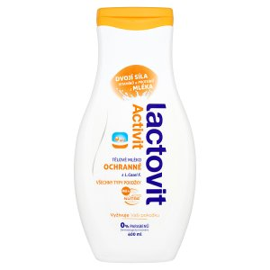 Lactovit Activit Ochranné tělové mléko 400ml ROSSMANN
