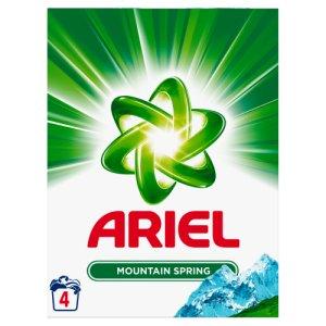 Ariel Prací Prášek 4 dávky, vybrané druhy COOP