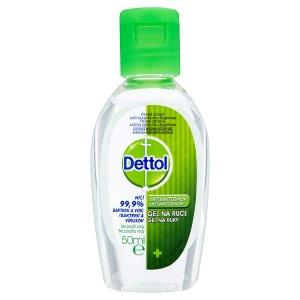 Dettol Antibakteriální gel na ruce 50ml Ráj drogerie