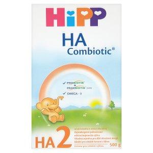 HiPP HA2 combiotik hypoalergenní pokračovací mléčná 500g ROSSMANN