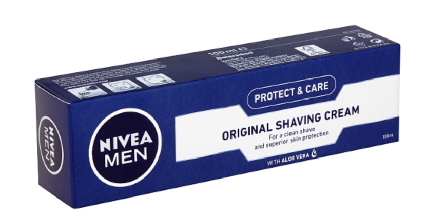 Nivea Men Protect & Care Krém na holení 100ml TOP drogerie