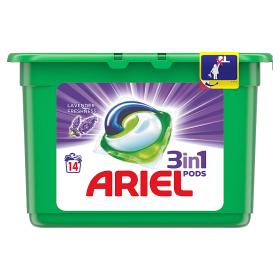 Ariel gelové kapsle 14dávek, vybrané druhy Tamda Foods