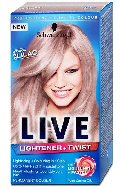 Schwarzkopf Live barva na vlasy, vybrané druhy ROSSMANN