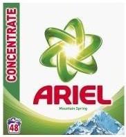 Ariel Prací Prášek 48 dávek, vybrané druhy Ratio