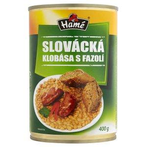 Hamé hotová jídla konzerva 400-420 g, vybrané druhy