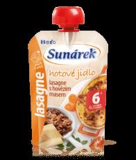 Sunárek hotové jídlo masozeleninový příkrm 120g, vybrané druhy