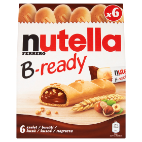 Nutella B-ready 6 x 22g
