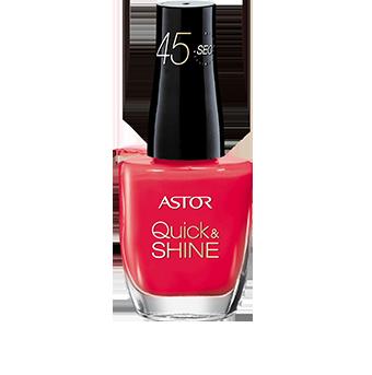Astor Quick and Shine lak na nehty, vybrané druhy