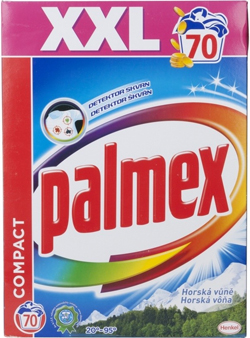 Palmex prací prášek 70 praní, vybrané druhy Albert