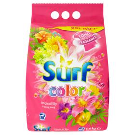 Surf prací prášek 80 dávek, vybrané druhy Teta drogerie