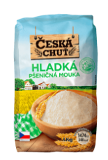 Česká chuť Mouka 1kg, vybrané druhy