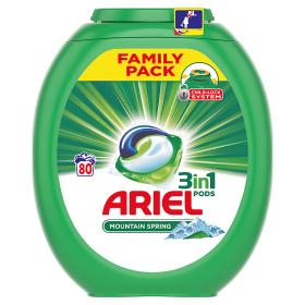 Ariel gelové kapsle 80 dávek, vybrané druhy Albert